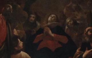 La parete sotto il quadro