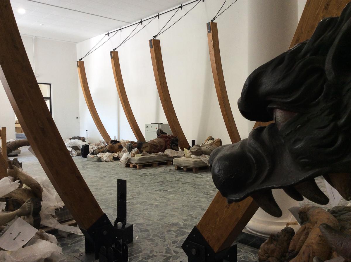 Le polene - Museo Navale La Spezia - Franco Boggero